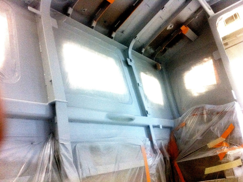 Insulating coatings for Seattle police boats